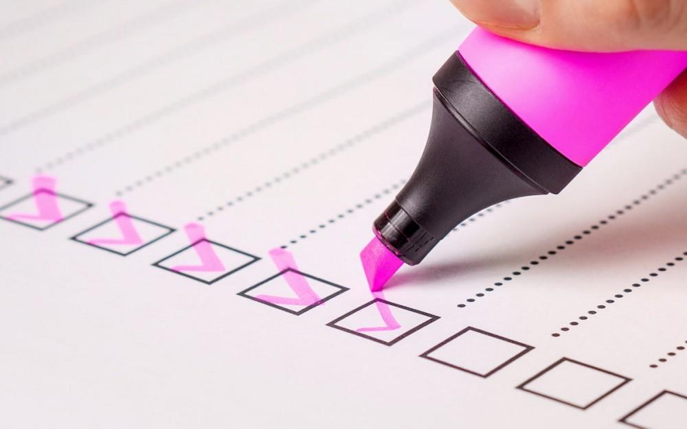Checklist vaststellingsovereenkomst